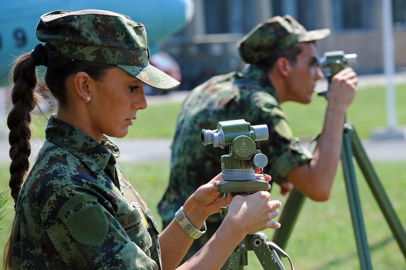 Women in Military - Serbian Armed Forces