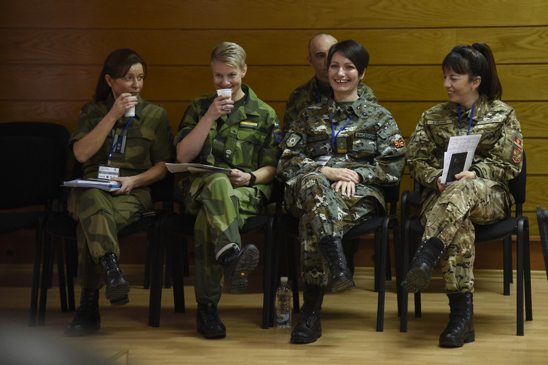 Gender Trainers from the Western Balkans with Nordic Center for Gender in Military Operations