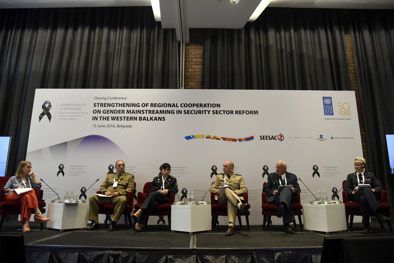 The Closing Conference of the first phase of Gender Equality in the Military Project – June 2016
